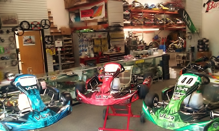 Innovative Karting- Arizona Dealer For VLR  Tonykart Gold